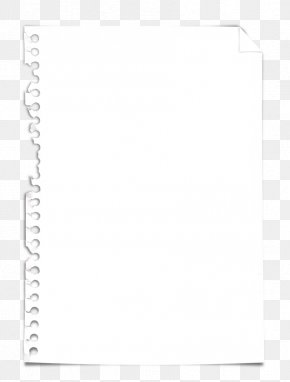 Ripped Paper - Paper Black And White Picture Frame Pattern PNG
