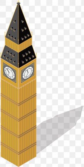 The Landmark Big Ben - Big Ben Gothic Architecture PNG