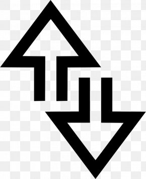 Down Arrow - Arrow Computer Network PNG