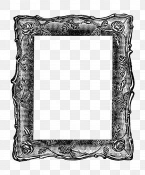 Frame Vintage - Borders And Frames Picture Frames Vintage Clothing Mirror Clip Art PNG