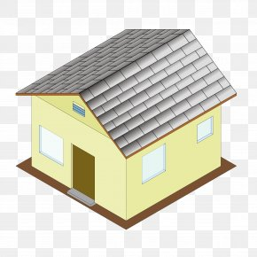 Isometric - House Building Clip Art PNG