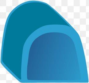 Igloo - Turquoise Electric Blue Aqua Teal PNG