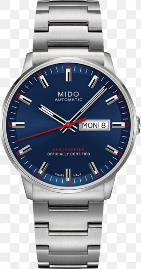 Watch - Mido Automatic Watch Jewellery Chronometer Watch PNG