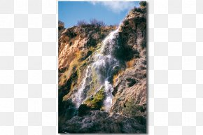 Park - Geology National Park Waterfall Outcrop Canyon PNG
