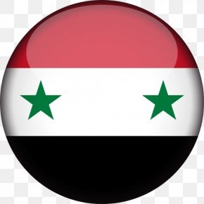 Flag - Flag Of Syria National Flag Syrian Republic PNG