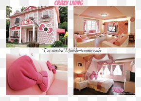 House - Hello Kitty Interior Design Services House Room Home PNG