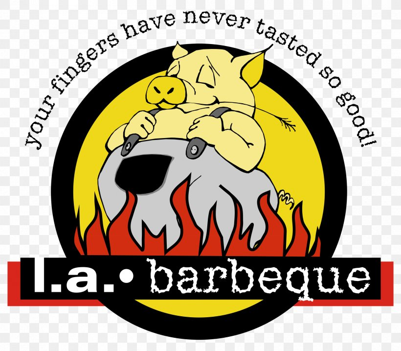 L.A. Barbeque Barbecue Pig Roast Ribs Catering, PNG, 2400x2100px, Barbecue, Area, Brand, Carnivoran, Catering Download Free
