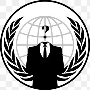 Anonymous - Anonymous Logo Hacktivism Security Hacker PNG