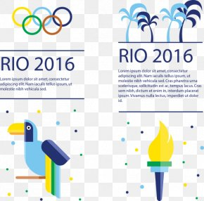 Olympic Poster - Rio De Janeiro 2016 Summer Paralympics 2016 Summer Olympics Olympic Flame Euclidean Vector PNG