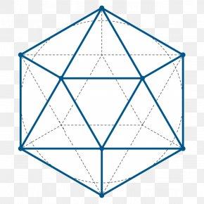 Shape - Icosahedron Euclid's Elements Sacred Geometry Platonic Solid PNG