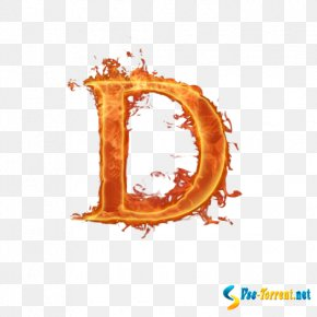 Light - Letter Light Fire Flame PNG