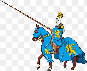 Air Vector Armor Knight - Middle Ages Horse Knight Jousting Tournament PNG