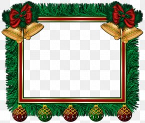 Xmas Frame Clip Art - Santa Claus Borders And Frames Christmas Picture Frames Clip Art PNG
