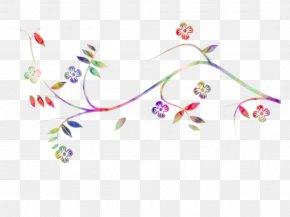 Flower Visual Arts - Pedicel Branch Plant Visual Arts Flower PNG