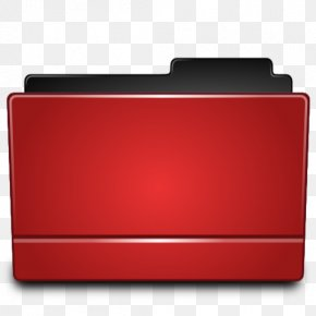 Red Folder, Directory Icon - Directory File Folders PNG