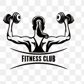 Woman Barbell Back Of FIG. - Fitness Centre Physical Fitness Clip Art PNG