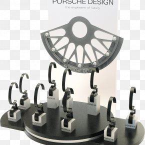 Point Of Sale - Point Of Sale Display Clock Porsche PNG