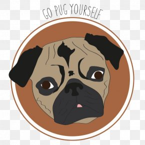 Pug Life Transparent Image - Pug Dog Breed Puppy PNG