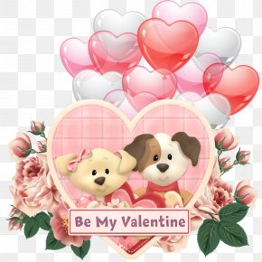 Stuffed Toy Shih Tzu - Saint Valentines Day PNG