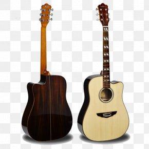 Handmade Wood Guitar - Acoustic Guitar Ukulele Tiple Cuatro Cavaquinho PNG