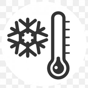 Thermometer Clip Art Cold - Clip Art Cold Weather Snow PNG