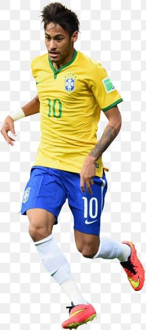 Neymar - Neymar Brazil National Football Team FC Barcelona 2018 World Cup Jersey PNG