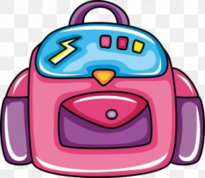 Bag Vector - Student Field Trip School Clip Art PNG