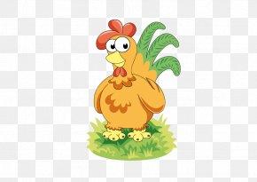 Cock - Chicken Rooster Cartoon PNG