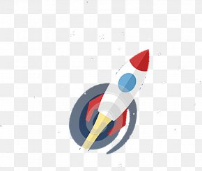 Cartoon Rocket - Flight Rocket Resource Gratis PNG