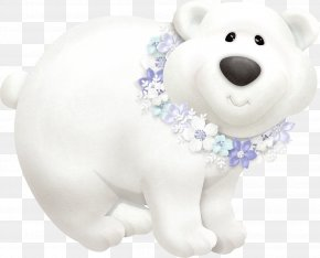Polar Bear - Polar Bear Snow Clip Art PNG