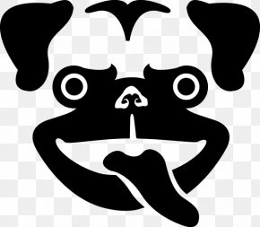 Pug - Pug Dog Breed Logo Clip Art Snout PNG