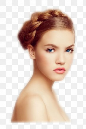 Model - Model Face Hairstyle Cosmetics PNG
