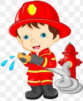 Cartoon Fireman - Firefighter Stock Illustration Fire Department Clip Art PNG