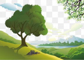 Landscape Element - Natural Landscape Euclidean Vector Nature PNG