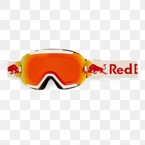 Red Bull - Goggles Red Bull Racing Glasses Skiing PNG