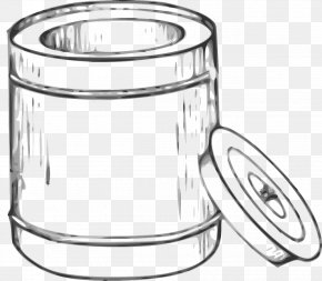 White Bucket - Paper Waste Container Recycling Bin Clip Art PNG