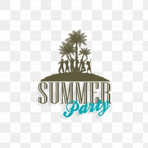 Summer Beach Silhouette - Party Silhouette Clip Art PNG