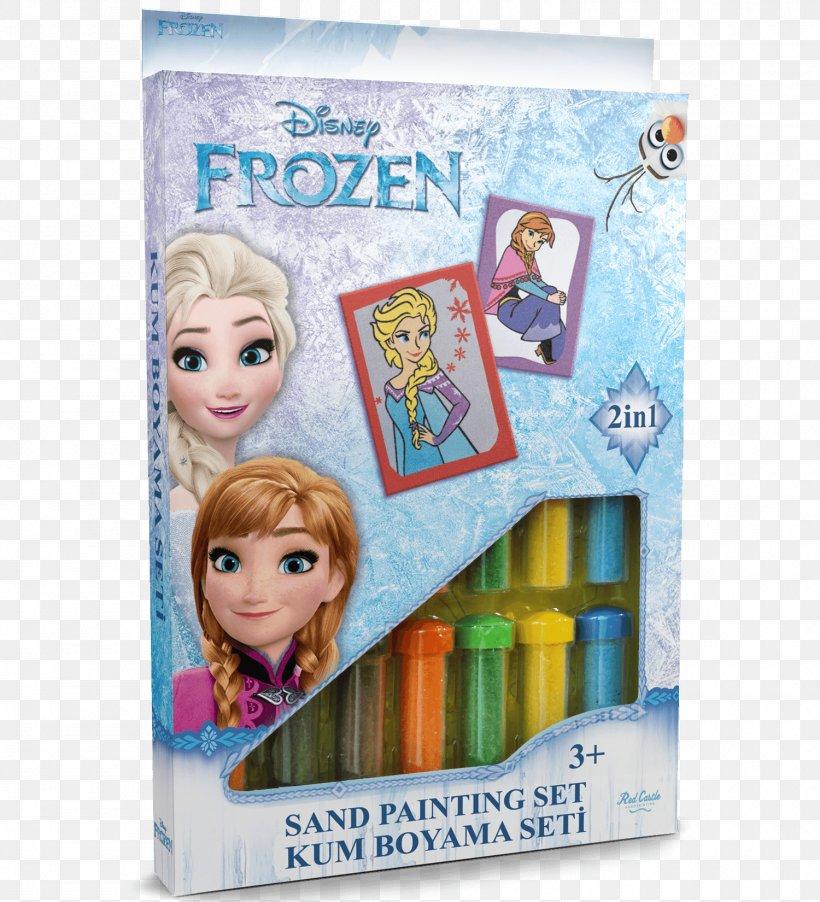Frozen Elsa Olaf Sandpainting Toy Png 1500x1650px Frozen