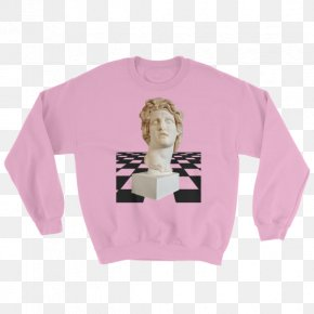 T-shirt - T-shirt Hoodie Sweater Sleeve Crew Neck PNG