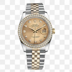 Rolex Watch Male Watch - Rolex Datejust Counterfeit Watch Diamond Source NYC PNG