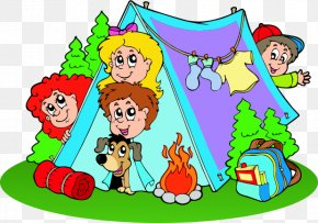 Summer Camp - Summer Camp Child Vector Graphics Clip Art Camping PNG
