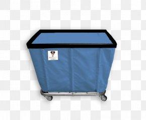 Blue Caster - Basket Wire Truck Bushel Rhythm And Blues PNG