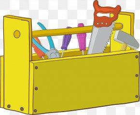 Cartoon Toolbox - Cartoon Toolbox Hammer PNG
