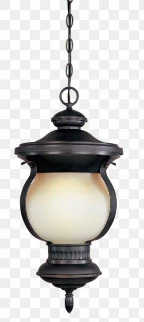 Retro Black Hanging Lights - Light Ramadan PNG