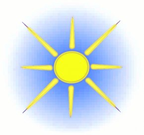 Blue Sun Cliparts - Sky Cloud Blue Sunlight Stock Illustration Clip Art PNG
