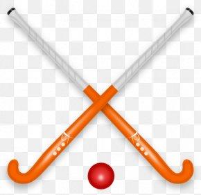 Field Hockey Pic - Field Hockey Stick Ball Clip Art PNG