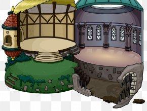 Igloo - Igloo Club Penguin Island Dome Recreation PNG