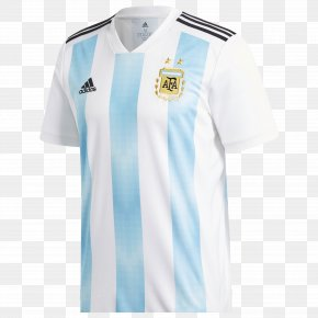 America's Cup - 2018 FIFA World Cup Argentina National Football Team T-shirt Jersey Adidas PNG