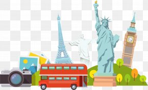Cartoon Statue Of Liberty - Statue Of Liberty Cartoon PNG