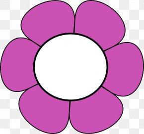 Magenta Petal - Clip Art Pink Petal Circle Magenta PNG